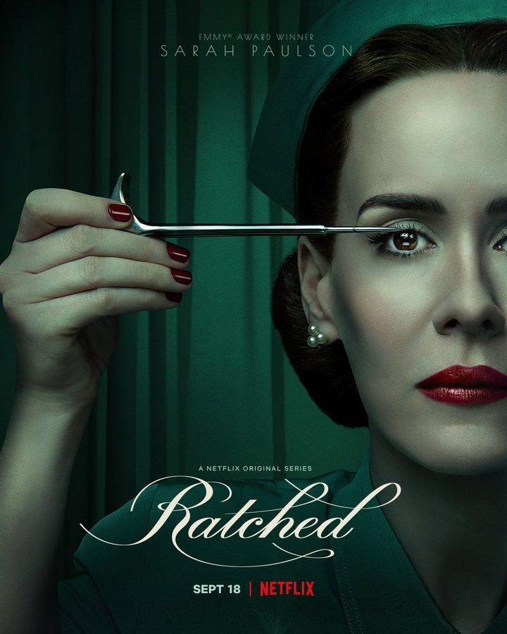 پوستر جدید سریال Ratched