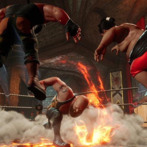 نقد و بررسی بازی WWE 2K Battlegrounds
