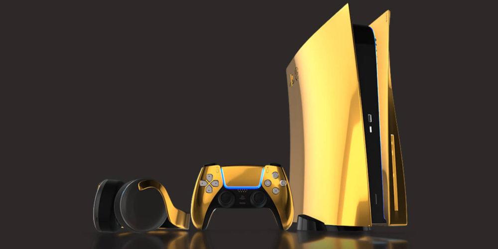 پلیاستیشن 5 ساخته شده از طلا