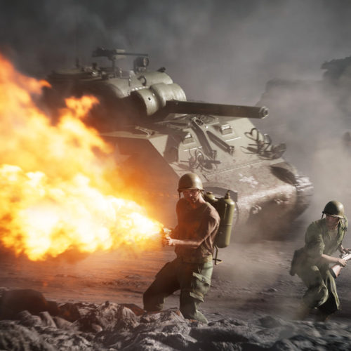 نسخهی نسل نهمی Battlefield V