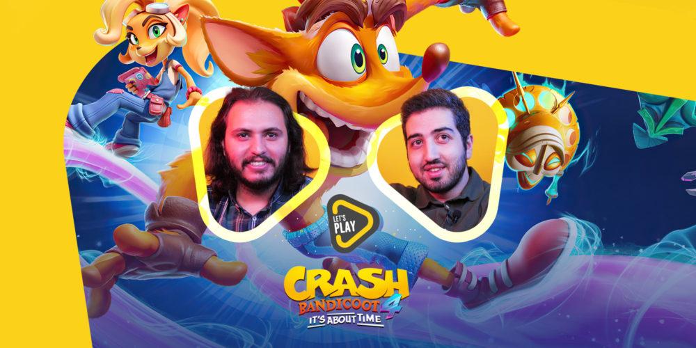 لتس پلی بازی Crash Bandicoot 4
