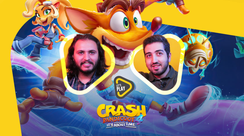 لتس پلی بازی Crash Bandicoot 4