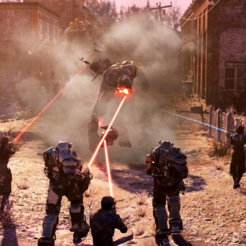 بهروزرسانی Steel Dawn بازی Fallout 76