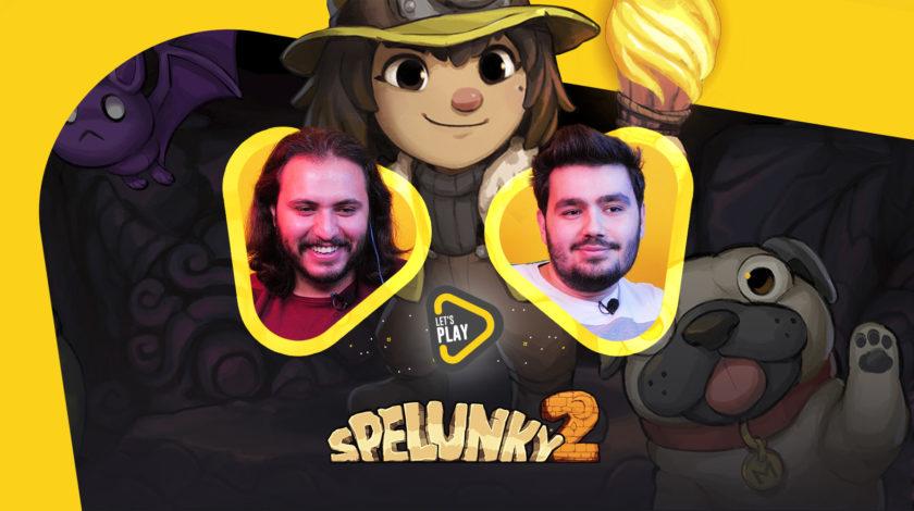 لتس پلی بازی Spelunky 2
