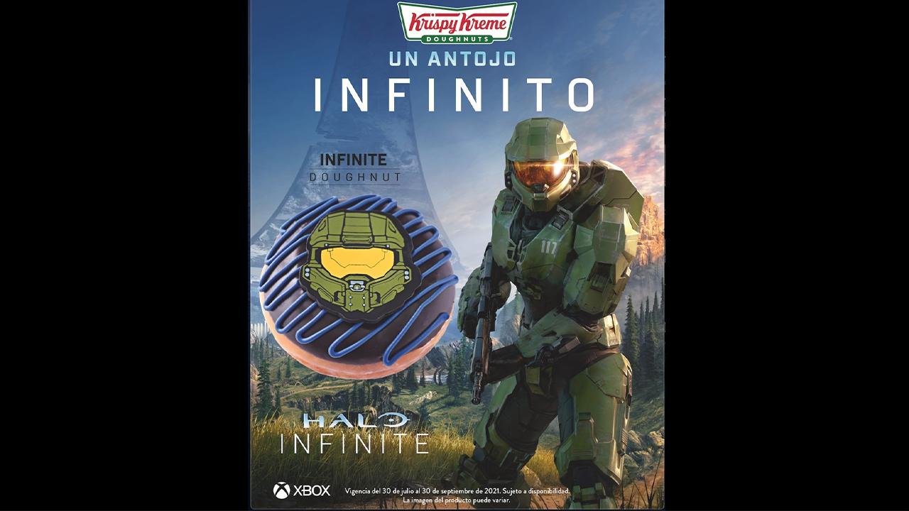 همکاری Krispy Kreme و Halo