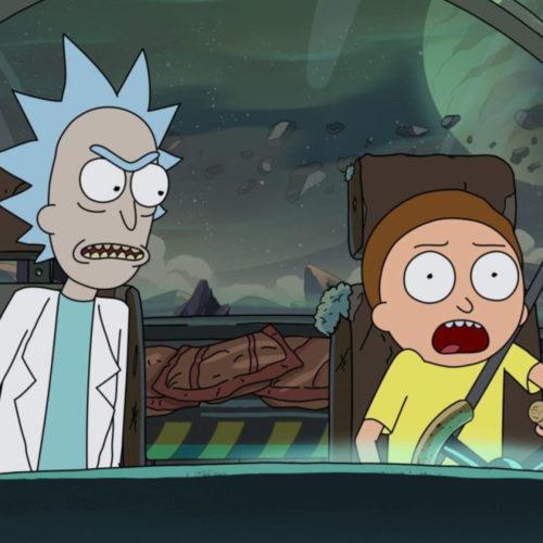 ساخت فصل هفتم Rick and Morty