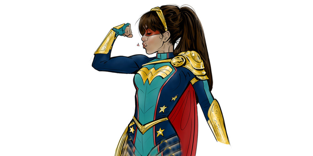 اقتباس سریالی Wonder Girl