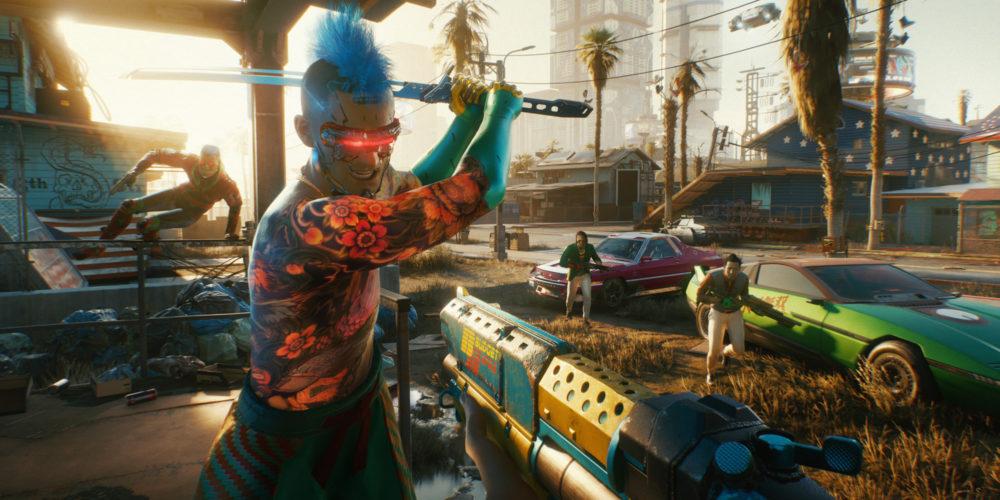 کمپین اصلی Cyberpunk 2077