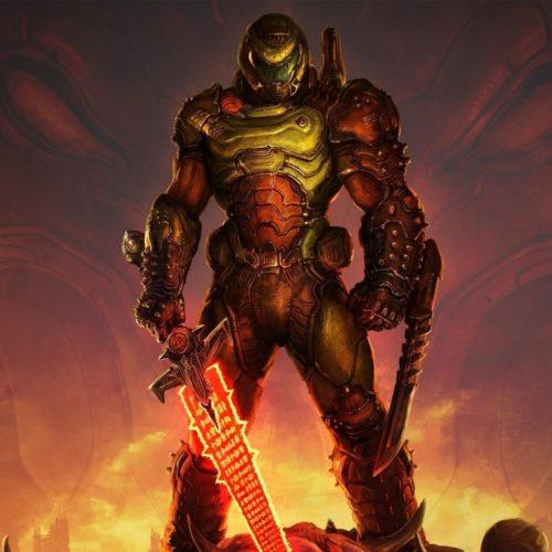 اسکین Doom Slayer در فال گایز