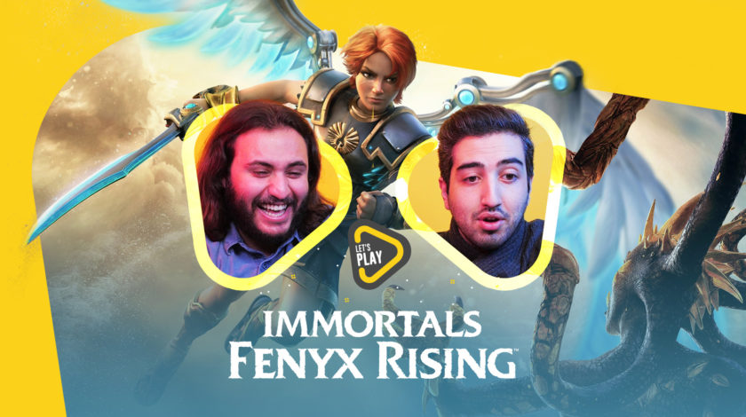 لتس پلی Immortals Fenyx Rising