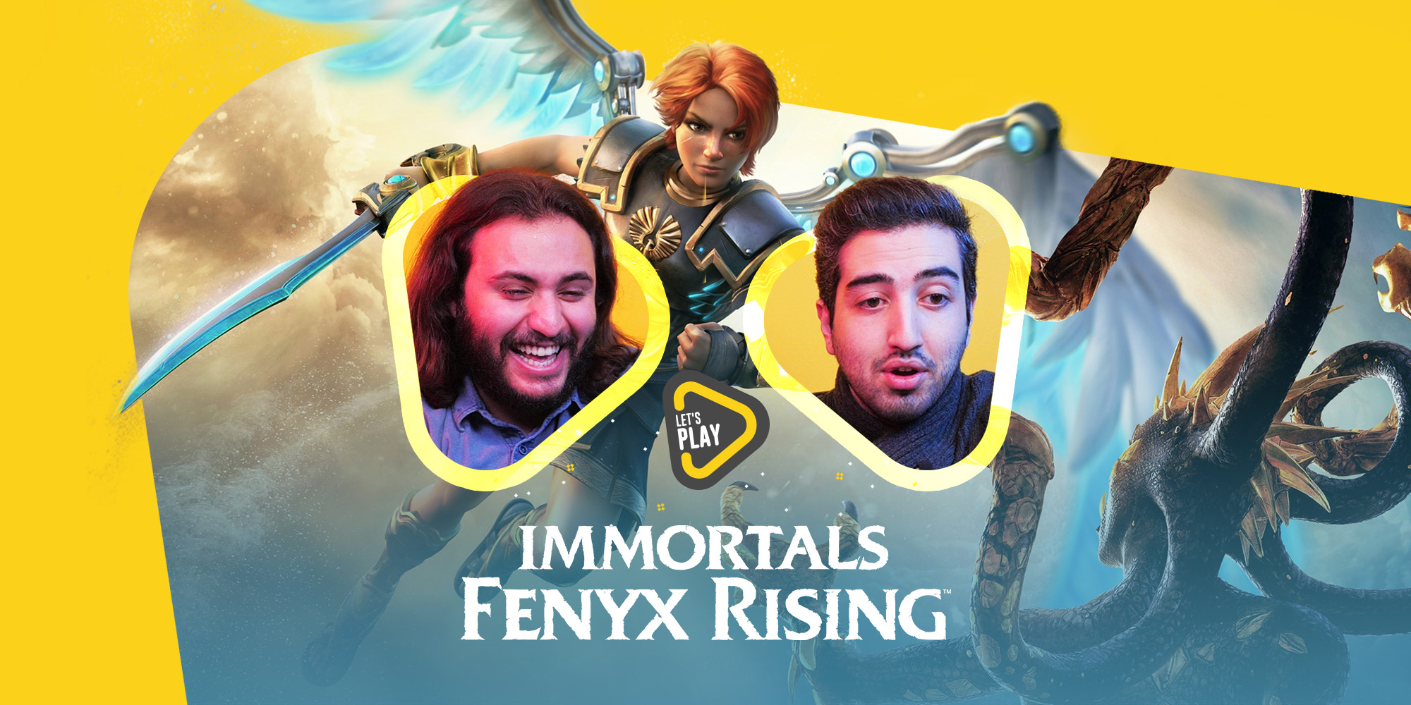 لتس پلی Immortals Fenyx Rising