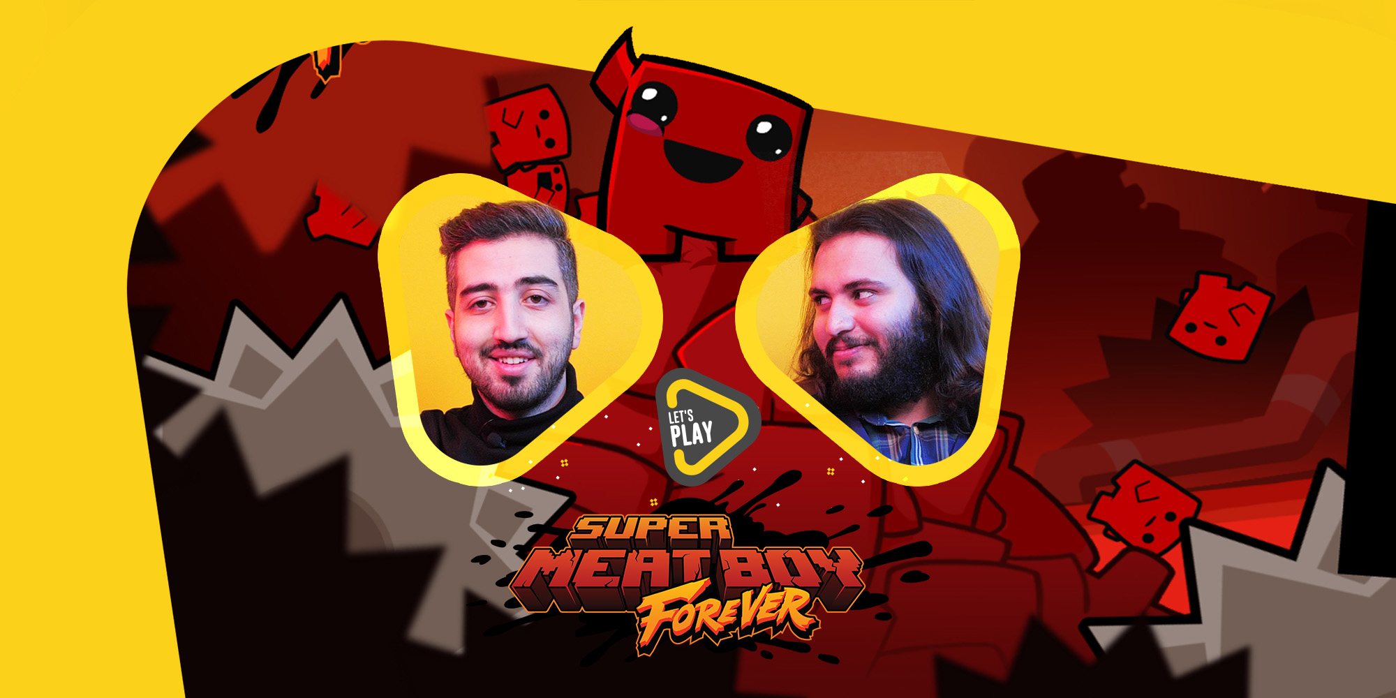 لتس پلی بازی Super Meat Boy