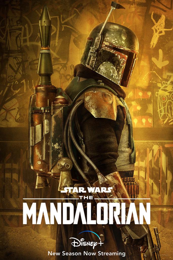 پوستر تازهی فصل دوم The Mandalorian