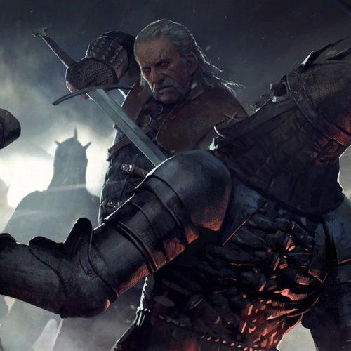 لوگوی رسمی The Witcher: Nightmare of The Wolf