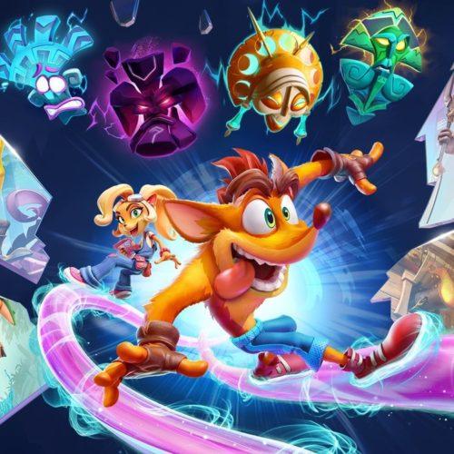 گیمپلی Crash Bandicoot: On The Run