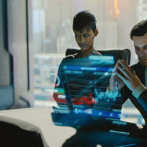 تریلر هنگام عرضهی Cyberpunk 2077