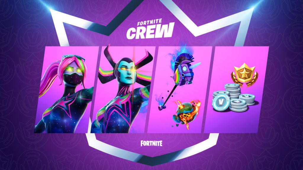 Crew Pack ماه دسامبر Fortnite