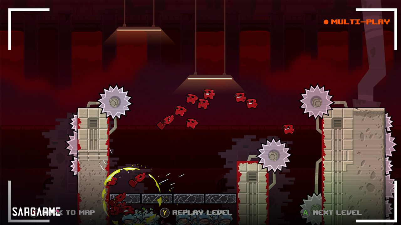 بازی Super meat boy Forever