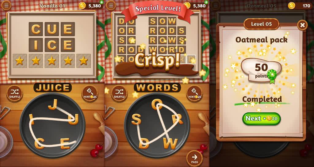 wordcookies بازی