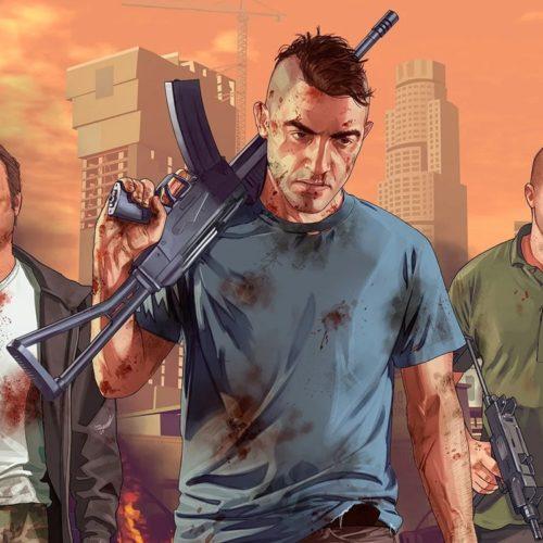 نسخه نسل نهم بازی GTA V