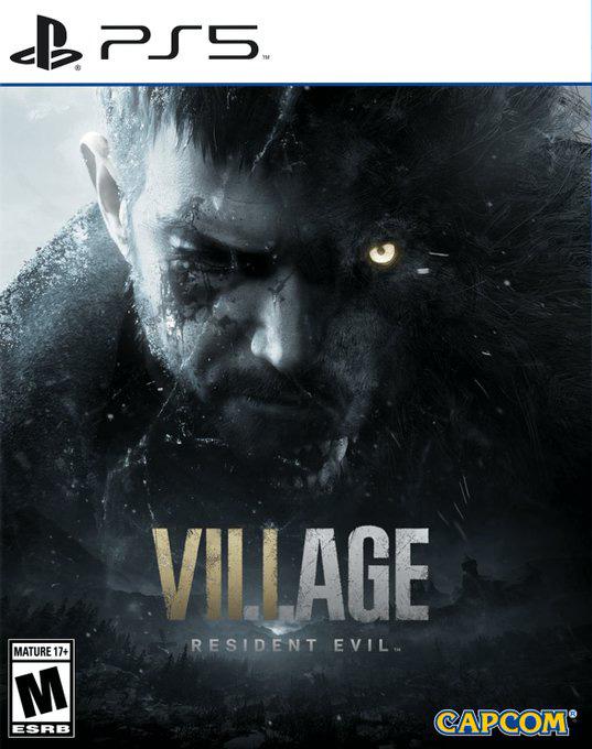 باکس آرت Resident Evil Village