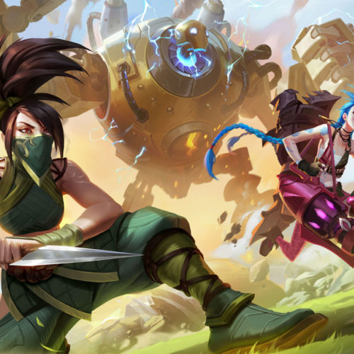 بازی موبایل League of Legends: Wild Rift