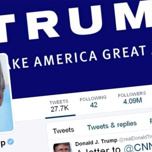 حساب کاربری دونالد ترامپ