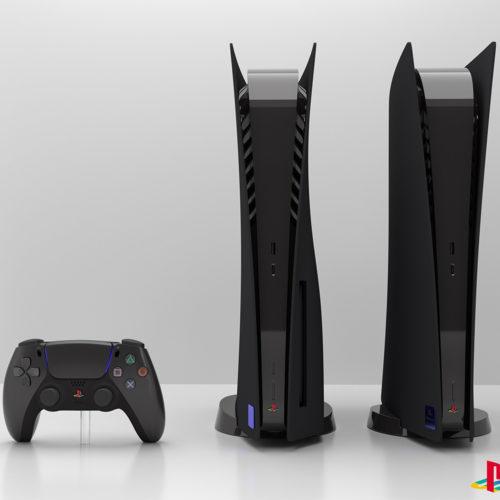 PS5 با طرح PS2
