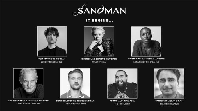 بازیگران اصلی The Sandman