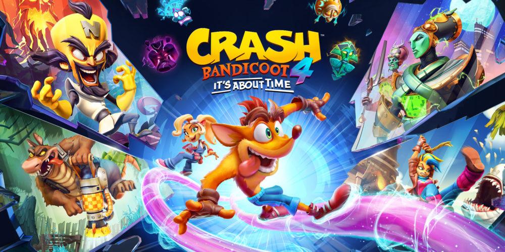نسخههای نسل نهمی Crash Bandicoot 4: It's About Time