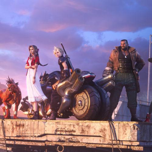 نسخهی پلیاستیشن 5 Final Fantasy VII Remake