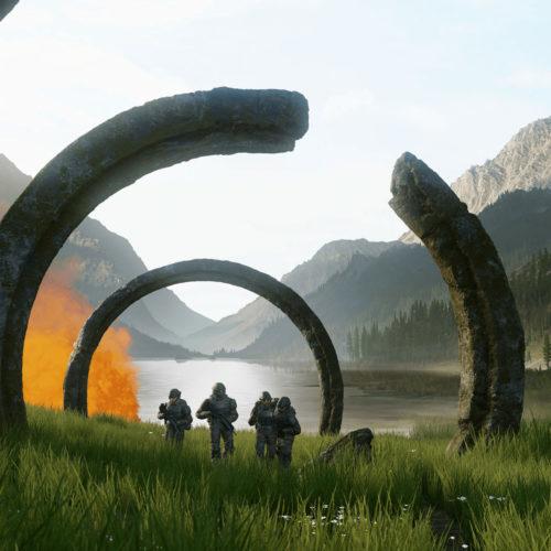 سبک هنری کمپین Halo Infinite