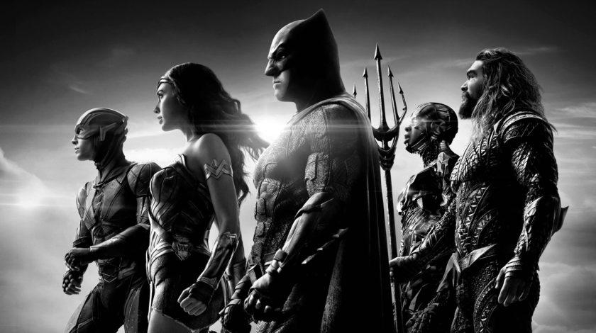 نسخهی سیاه و سفید اسنایدر کات Justice League