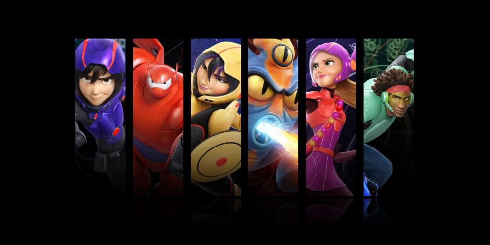 شخصیتهای Big Hero 6