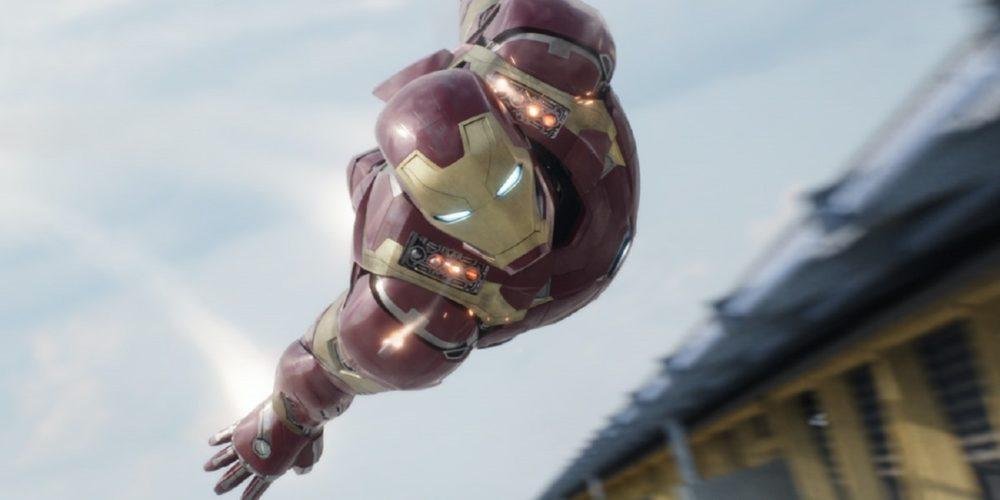 مرد آهنی در فیلم Captain America: Civil War