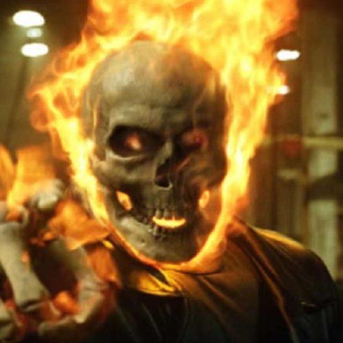 نیکلاس کیج در نقش Ghost Rider