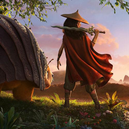 نقد انیمیشن raya and the last dragon