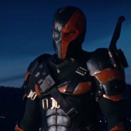 بتمن و دثاستروک در فیلم Zack Snyder's Justice League