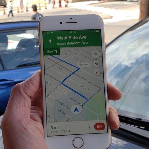 گوگل مپس (Google Maps)