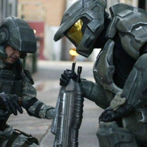 تصاویری از پشت صحنهی سریال Halo