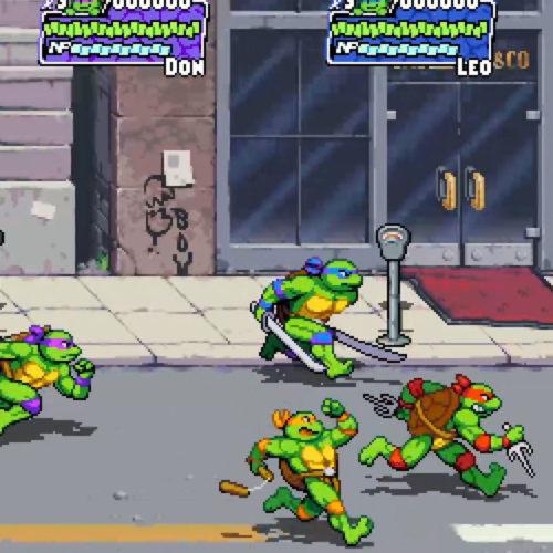 بازیTMNT: Shredder's Revenge