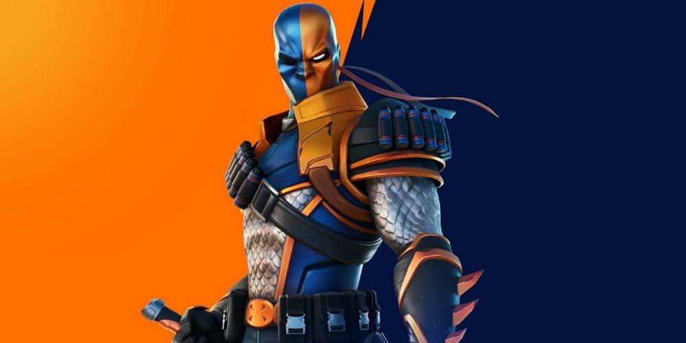 اسکین Deathstroke در بازی Fortnite