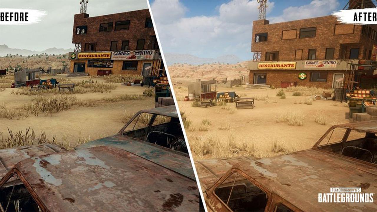 تغییرات نقشه Miramar در بازی PUBG
