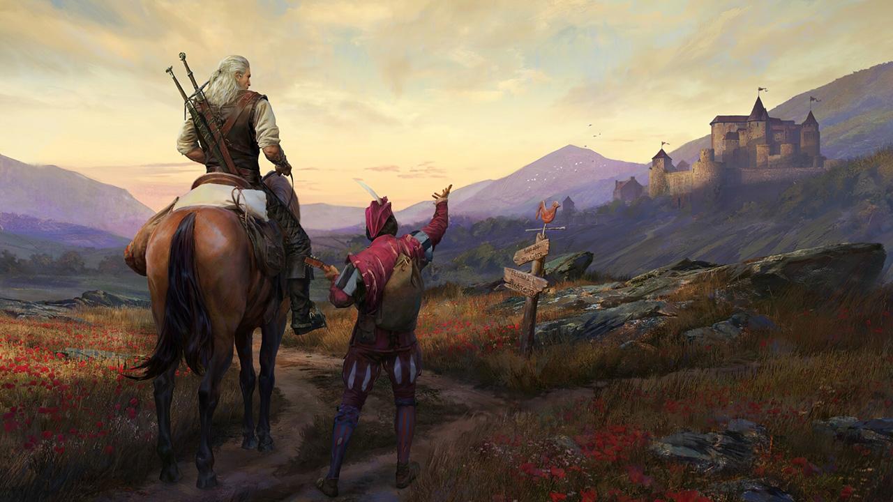 بردگیم The Witcher Adventure Game