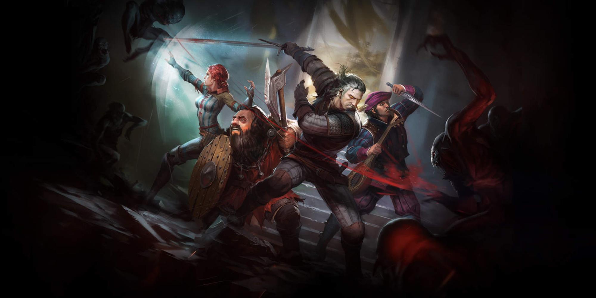 بازی رومیزی The Witcher Adventure Game