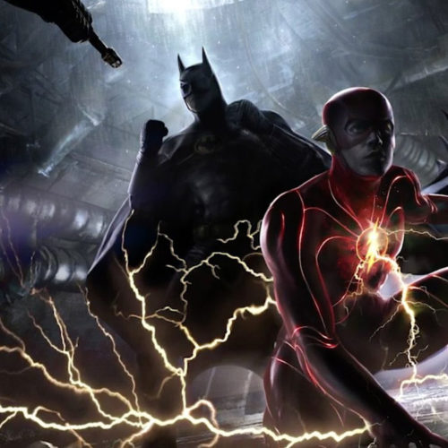 لباس بتمن مایکل کیتون در The Flash
