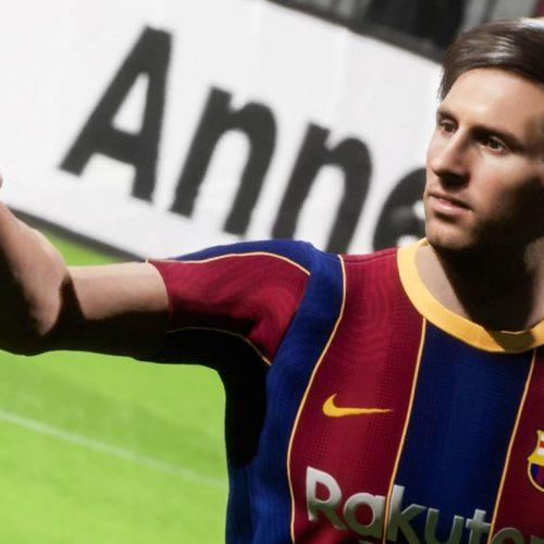 دموی بازی PES 2022 لیون مسی