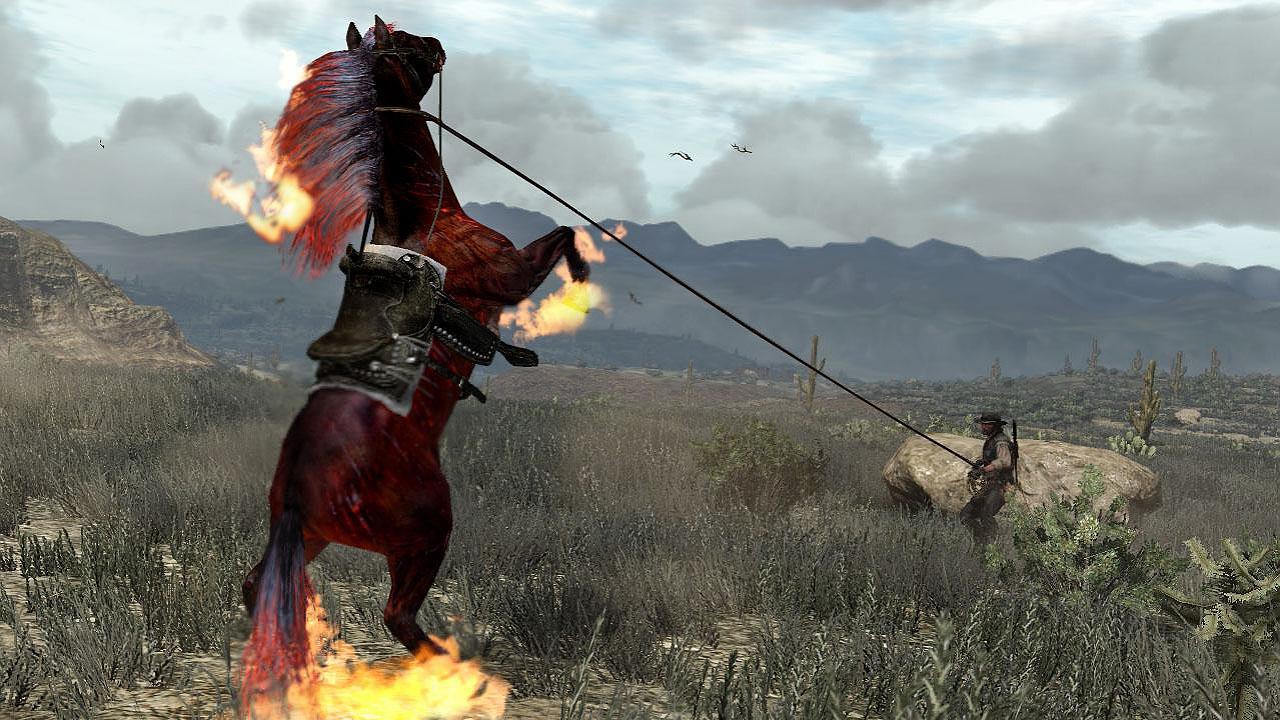 بازی ویدیویی با اسب