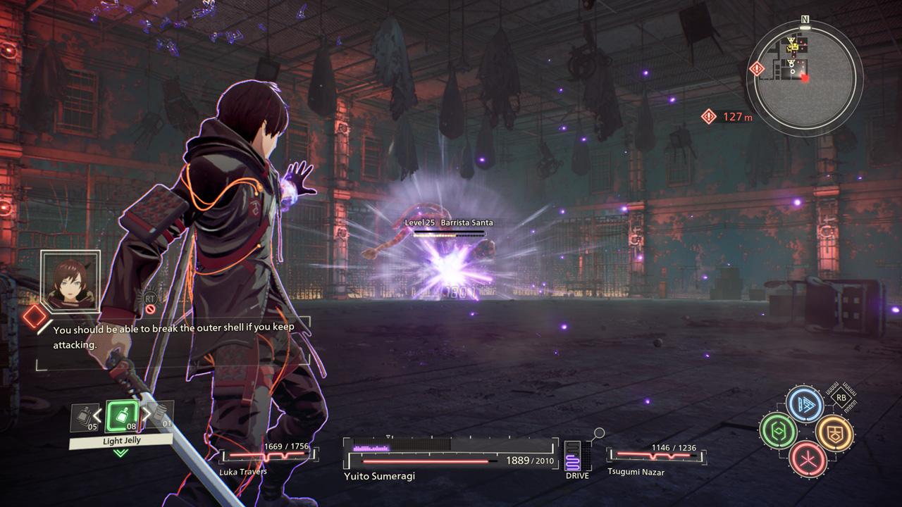 بازی Scarlet Nexus