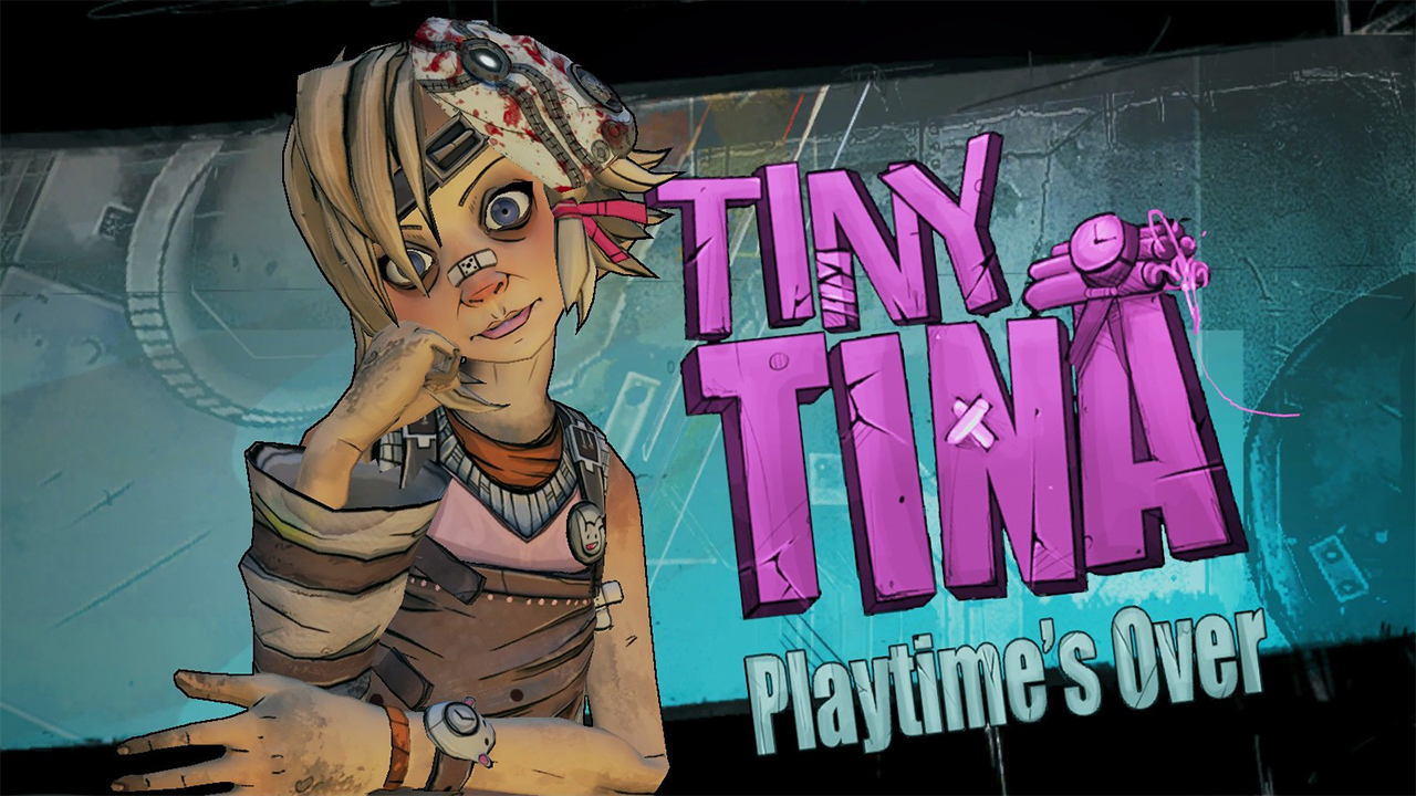 شخصیت Tiny Tina در بازی Borderlands